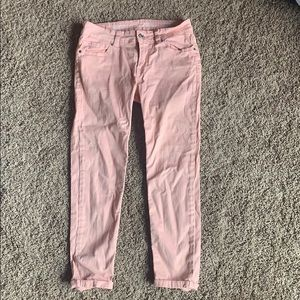 Size 27 blush pink capris